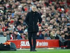 Mourino s'engage à Tottenham. AFP