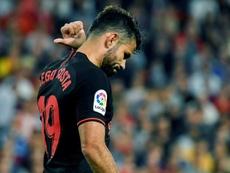 Atlético escutaria ofertas superiores a 20 milhões de euros. EFE/Raúl Caro/Archivo
