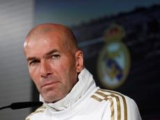 Zidane habló sobre Mourinho. EFE