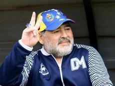 Diego Maradona no dirigirá al Elche. EFE