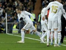 Bale voltou ao Tottenham amargurado com o Real Madrid. EFE/ Ballesteros