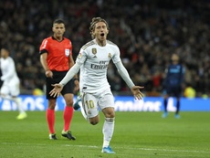 Modric's future at Real Madrid is uncertain. EFE