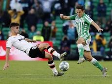 Guardado renova com Betis até 2022. EFE/ José Manuel Vidal