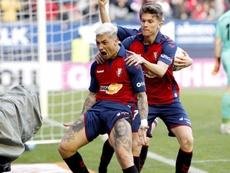 El Barça intentó fichar al Chimy antes de la rotura. EFE/Villar López