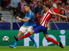 Cristiano Ronaldo de retour face à l'Atlético, pas Douglas Costa. EFE/Emilio Naranjo/Archivo