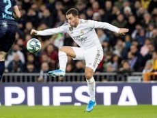 Hazard recogió el testigo... por cuarta vez esta temporada. EFE/ Rodrigo Jimenez