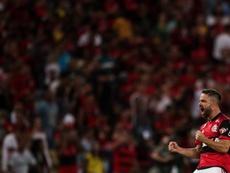 Diego Ribas de Flamengo. EFE/Antonio Lacerda/Arquivo