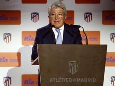 Cerezo repasó el 2019 del Atlético de Madrid. EFE