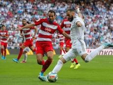 Les compos probables entre Grenade et Real Madrid. EFE/Juan Carlos Hidalgo/Archivo