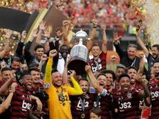 Brasil conquistou todas Libertadores de 2019. EFE/Antonio Lacerda