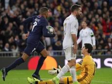 Mbappé se debate entre Madrid y Liverpool. EFE