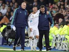 Eden Hazard não estará recuperado a tempo de disputar o dérbi de sábado. EFE/Juanjo Martín