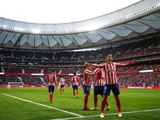 El Atlético tiene como prioridad fichar a un delantero. EFE