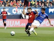 David García destacó la importancia de la victoria ante el Espanyol. EFE
