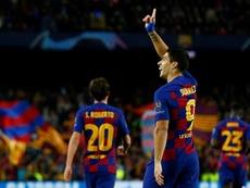 Luis Suarez, des buts qui sont synonymes de victoire. afp