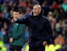 Zidane est entré dans l'histoire face au PSG et a rejoint Mourinho. EFE