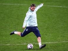 Sergio Ramos, entre os melhores da fase de classificação para a Euro 2020. EFE/Rodrigo Jiménez/Archi