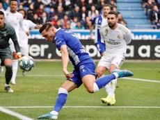Pérez acredita que Alavés fez um grande trabalho. EFE/David Aguilar
