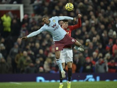 Man United and Aston Villa shared the points at Old Trafford on Sunday. EFE