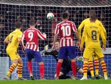 Le groupe du Barça pour affronter Majorque en Liga. EFE