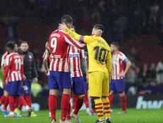 El Atleti no consigue superar a Madrid ni Barça. EFE