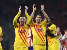 Barcelona pode vestir rosa na próxima temporada. EFE/Juanjo Martín