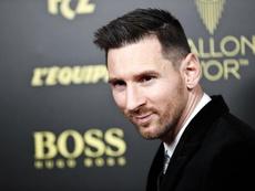 Messi, a exhibirse en el Camp Nou ante el Mallorca. EFE