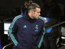 Bale, pela quarta vez, deixa o Bernabéu aos 80'. EFE/ Juanjo Martín/Archivo