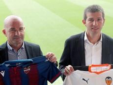 El Valencia quiere llevarse el segundo derbi. EFE
