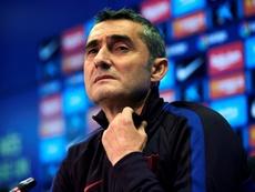Ernesto Valverde habló sobre el 'Clásico'. EFE/Alejandro García