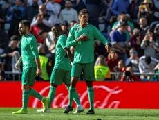 El Madrid resolvió a la francesa. EFE