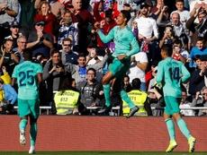 Varane va camino de ser la próxima leyenda del Madrid. EFE