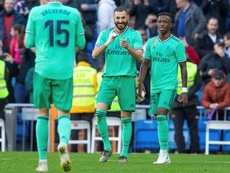 L'admiration de Vinicius pour Benzema. EFE