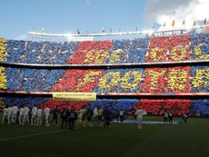 RFEF insists security not its responsibility ahead of pre-Clasico political protests. EFE
