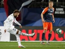 Neymar. Mbappé, Icardi y la noche antes del examen. EFE/EPA/GUILLAUME HORCAJUELO