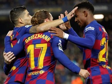 Barcelona have got things to think about ahead of the Clasico. EFE
