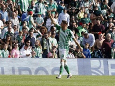 Joaquín sumó el primer 'hat trick' de su carrera. EFE