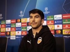 Pour Carlos Soler, le retour au Mestalla sera la clé du succès. EFE