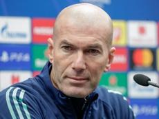 Zidane ne pense pas au Clásico. Capture/RMTV