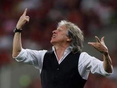 Lo que pide Jorge Jesus para continuar en Flamengo. EFE/Marcelo Sayão