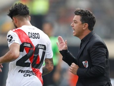 Gallardo ainda tem o objetivo de ser campeão argentino. EFE/Paolo Aguilar