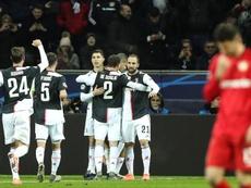 Cristiano Ronaldo volvió a marcar en la Champions League. EFE