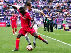 El jugador del Real Valladolid podría marcharse al Girona. EFE