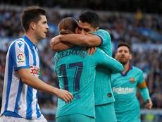 Suarez difende Griezmann. EFE
