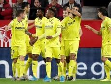 El Villarreal ganó en el Pizjuán. EFE