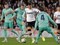 El Barça irá a por Rodrigo. EFE