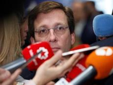 Martínez-Almeida habló sobre el incidente en Hortaleza. EFE/Archivo