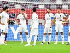 Xavi dice adiós al Mundial de Clubes con un 'clásico' resultado. EFE/EPA/NOUSHAD THEKKAYIL