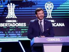 Conmebol busca modo de auxiliar clubes em meio à crise do coronavírus. EFE/Nathalia Aguilar