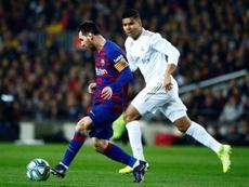 Guti se enfrentó a Messi en su etapa como jugador. EFE